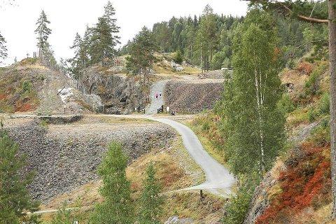 NY KULTURSTI: 25. mai åpner en ny kultursti i Sydgruvene på Blaafarveværkets gruveområde.