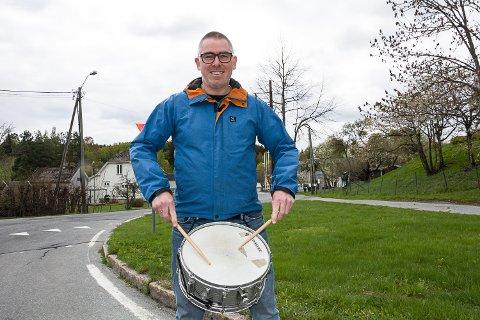 Jan Morten Helgestad. korps, 17. mai, trommer, Skotselv