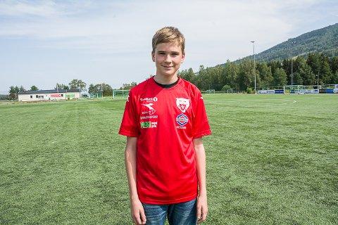TEAM NORWAY: Sondre Berget er tatt ut til å spille på Team Norway tirsdag.