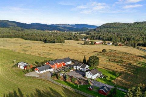 INTERESSE: Gårdsbruket Ødegården i Bingen har takst og prisantydning på ni millioner.