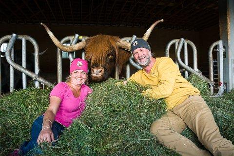 TEDDY: Hanne Veikåker og Bjarne Nikolaisen