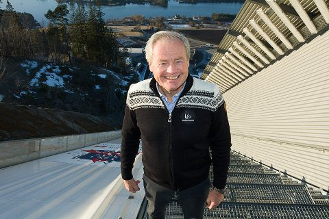 DAGLIG LEDER: Per Bergerud er ansatt som daglig leder i det nystiftede selskapet SVH Drift AS, som skal bistå med å arrangere hopprenn i Vikersund i tillegg til å utvikle helårsbruken av hoppanlegget.