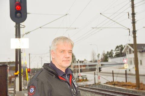 FÆRRE BYGNINGSBRANNER:: – Selv om brannvesenet rykket ut til færre bygningsbranner i 2020 enn året før, endte fjoråret ellers opp med å bli et år på det jevne, sier Per Einar Elvigen, Brannsjef i Modum kommune .