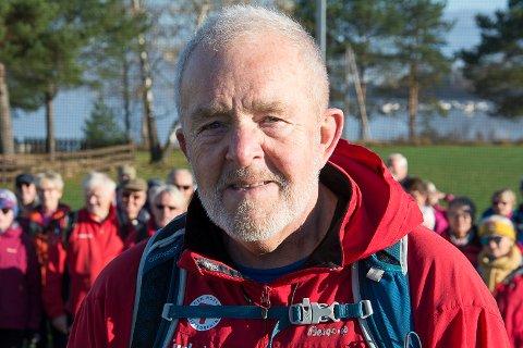10 ÅR: I løpet av ti år har Hans Petter Eriksen og de andre turlederne gjennomført rundt 500 turer.
