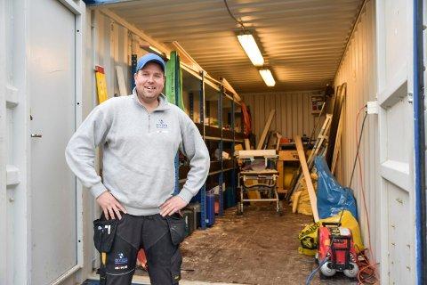 FÅR BYGGE: TS Bygg Modum AS og Tom Sem har fått tillatelse til å sette opp ny driftsbygning på gården.