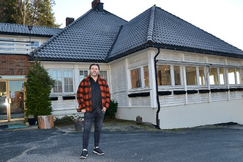 NY EIER: Leon Johansen har kjøpt Kongsfoss pensjonat og den entusiastiske drammenseren har planer om å bli gammel på stedet.