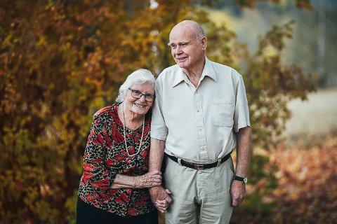 GIFT I 60 ÅR: Berit og Hermod Hansen feirer 60-års bryllupsdag torsdag 17. desember 2020.