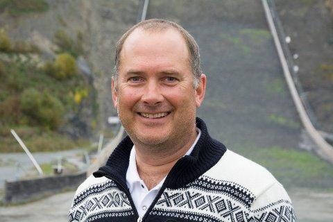 HAR SOLGT: Leif Arne Berget blir regiondirektør i Holship Norge AS etter at han har solgt aksjene i Backup Shipping AS til dem. Han har fått grønt lys av den nye arbeidsgiveren til å fortsette som skiflygingspresident.