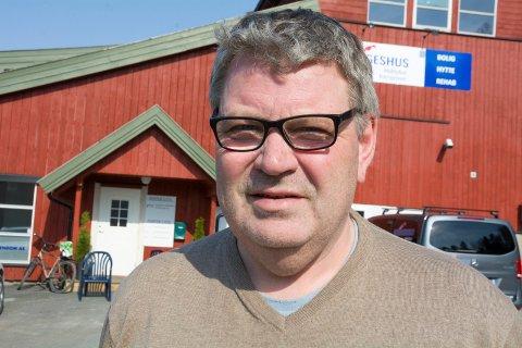 SKINSTADTOPPEN: Jan Petter Hansen i Saga Eiendom AS har fått Norgeshus til å jobbe med reguleringsplanen for Skinstadtoppen. Tanken er å legge til rette for ti boligtomter der.