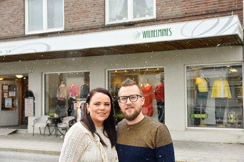 EN DRØM: For Kjersti Eriksen har det vært en drøm å skulle drive en egen butikk. Nå går drømmen i oppfyllelse og med på laget har hun samboeren Pål Inge Ryen.