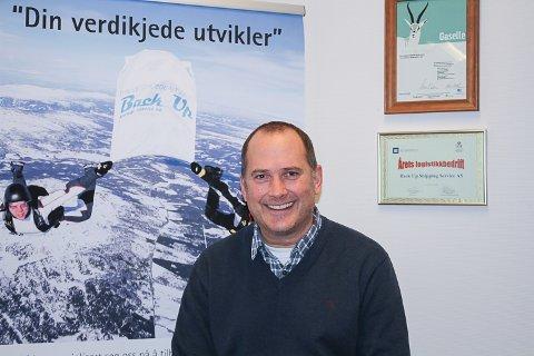 SHIPPING: Leif Arne Berger er styreleder i Back Up Shipping Service AS og eier halvparten av selskapet.