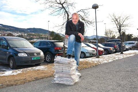 Bare Knut. Knut Bråthen er ansvarlig redaktør og daglig leder i Bygdeposten.