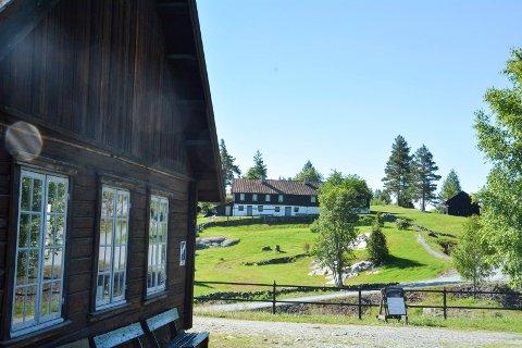 GRUVENE: Koboltgruvene på Blaafarveværket inngår i det kulturhistoriske landskapet som Riksantikvaren mener har nasjonal interesse.