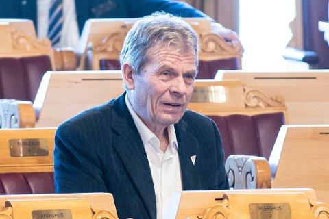 Arne Nævra er representerer SV på Stortinget.