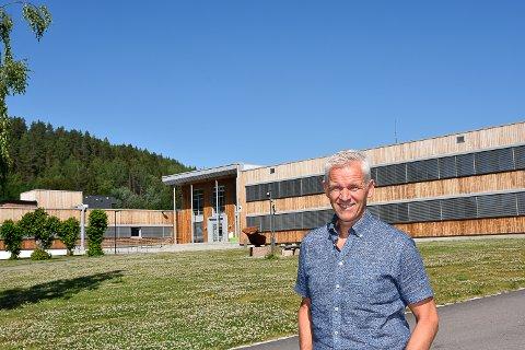 YRKESTRØKK: Konstituert rektor Bjørn-Erik Buøen kan slå fast at yrkesfagene ved Buskerud videregående skole er ettertraktet og at det er lange ventelister.