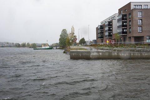 GJESTEBRYGGE: Modum kommune har begynt å jobbe med planer om gjestebrygge mellom Pollen og Dampbåtbrygga.