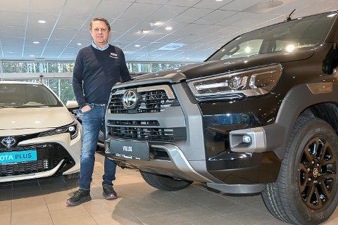 LITT RART: – Selv om det er en solid aktør som kjøper oss, blir det litt rart å plutselig skulle forholde meg til en ny eier, men det skal nok gå bra, sier Jørn Moen, daglig leder hos Funnemark Hokksund.