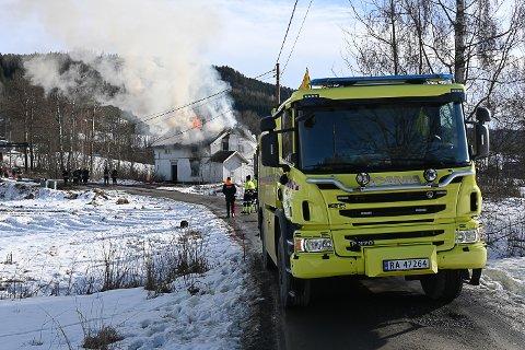 TIL SOMMEREN: Fram til juni 2022 skal Modum kommune se nærmere på hva et samarbeid med Drammensregionens brannvesen faktisk innebærer.