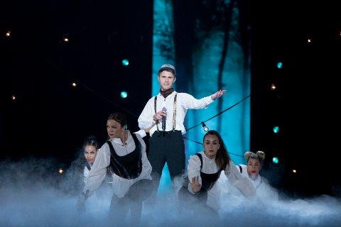 NY MULIGHET: Ole Hartz kjemper om et wildcard til den norske Melodi Grand Prix-finalen med melodien «Vi er Norge».