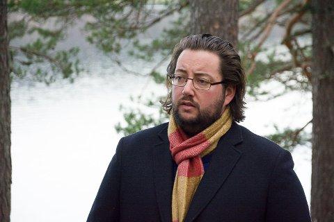 SMITTET: Andreas K. Torp har fått påvist koronasmitte, uten å vite hvordan han har blitt smittet.