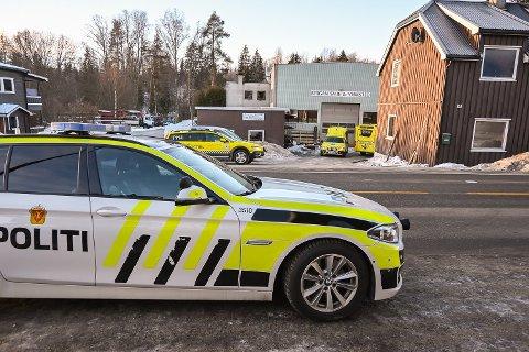 ETTERFORSKES: Arbeidsulykken hos Bergan smie & verksted i Åmot 27. januar etterforskes fortsatt av både politiet og arbeidstilsynet.