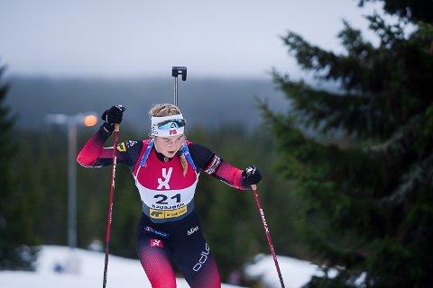 MER ERFARING: Hedda Thoresen Bolstad var nok litt overtent i junior-VM i fjor, men får en ny sjanse når årets mesterskap starter i Obertilliach i Østerrike 24. februar.