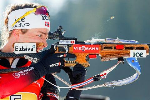MÅTTE STÅ OVER: Ida Lien fra Simostranda gikk ikke gått de to siste rennene i verdenscupen på grunn av sykdom.