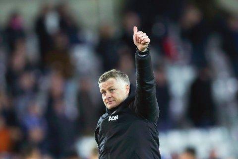 GODE DAGER: Manchester Uniteds manager Ole Gunnar Solskjær har gode dager som manger i Manchester United. Lokale managere gjør det også godt i Fantasy-utgaven av Premier League.