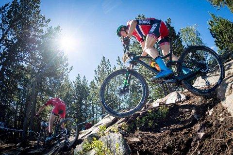 OL-AKTUELL: Erik Hægstad er aktuell for terrengsykkelrittet i OL i Tokyo, men han må snart komme i gang med konkurransesesongen. FOTO: PRIVAT