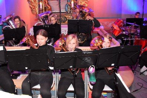 FIKK PENGER I FJOR: Eggedal skole-og ungdomskorps var en av søkerne som fikk støtte i fjor. De fikk 35.000 kroner til instrumenter og noter.