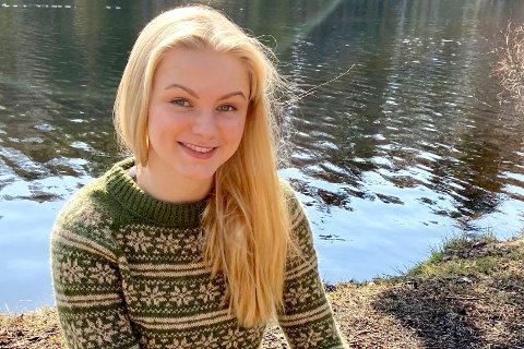 ADVOKAT: Silje Maria Sørum fra Geithus studerer jus og ønsker å bli advokat.