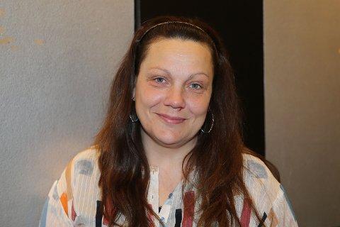 BUTIKKSJEF: Ann-Christin Andersen er butikksjef for Floyd på Åmotsenteret.