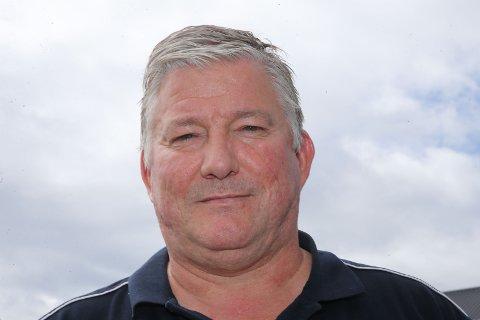 15 KJAPPE: Benny Olsen er kundemottaker hos Wold og Borgersen i Åmot.