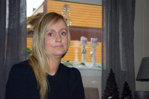 VITNET: Christine Westby fra Hønefoss vitnet mot sin tidligere kjæreste i tingretten i Hokksund.