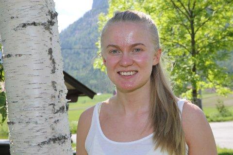 15. KJAPPE: Anna Foss er butikkmedarbeider på COOP Prix i Nedre Eggedal.
