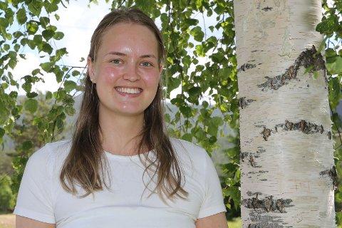 15. KJAPPE: Odelsjenta Marie Enger jobber som helsefagarbeider.
