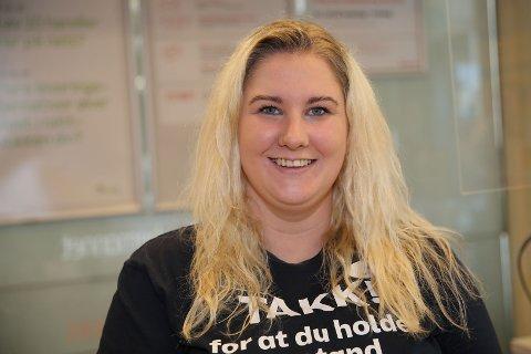 15. KJAPPE: Nina Jeanette Lien er vikarierende assisterende butikksjef på COOP Prix i Nedre Eggedal.