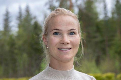 15 KJAPPE: Guro Bottolfs Thalerud er lærer på Flå til daglig.