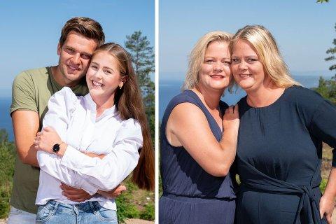 ENIGE: Anna Rosenlund Skretteberg og Jone Engemoen Hansen (t.v.) fra Åmot er enige i kritikken av castingen, som kommer fra tvillingsøstrene Trine og Trude Rishaug Lium.