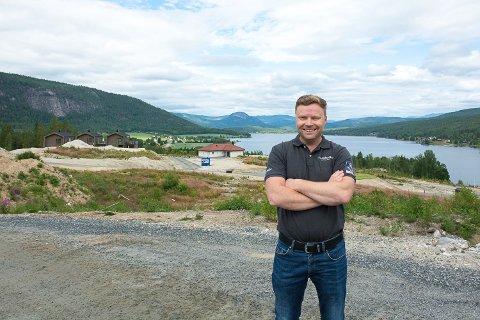 HEDRET: Gunbjørn Vidvei er «Årets Blinker» og prosjektet Sandsbråten Panorama er «Årets Beste Prosjekt» i en intern kåring i Blink Hus-kjeden.