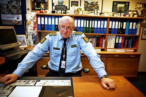 SAMARBEID: – Det er en mye større bevissthet rundt samarbeidet mellom politidistriktene og PST i dag enn det var før juli 2011, sier Johan Fredriksen. Han er fast i troen på at politiet er bedre rustet i dag til å håndtere slike situasjoner, men minner om at også de som ikke vil oss vel har skaffet seg ny viten og kapasitet, sier Johan Fredriksen, stabssjef i politiet i Oslo.