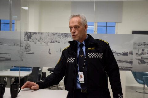 HENLAGT: Bent Engebret Øye er seksjonsleder for etterforskning, og sier at mange saker om skadeverk henlegges fordi politiet ikke har nok opplysninger.