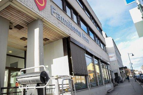 FAMILIENS HUS: Familiens hus i Hønefoss rommer en rekke funksjoner som handler om barn, unge, helse og omsorg.