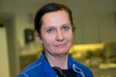 15 KJAPPE: Sandy Baldauf fra Sysle er avdelingsleder for Blaafarveværkets virksomhet på Gruvetråkka.