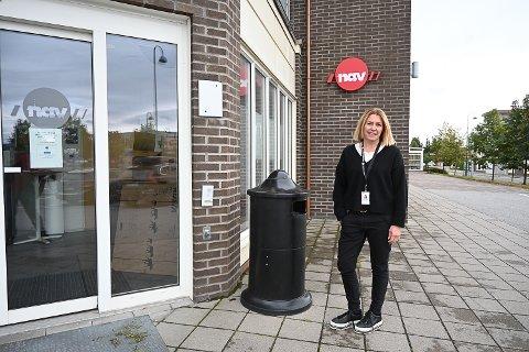 BERØRER ALLE: NAV-leder for Midt-Buskerud Hilde Lysgård Knutsen samlet tirsdag alle ansatte etter den tragiske hendelsen i Bergen mandag.