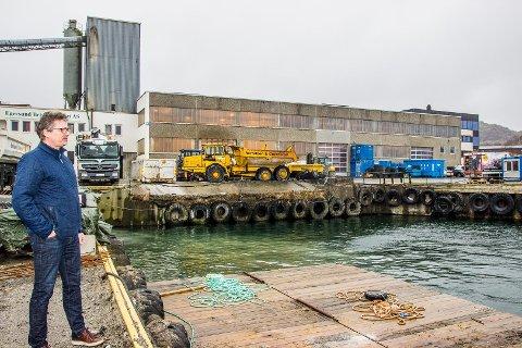 Øyvind Langemyr mener det er rimelig at B&G får fylle ut sjøareal i tilknytning til sin egen eiendom. Større areal vil åpne nye muligheter og legge grunnlaget for videre vekst.