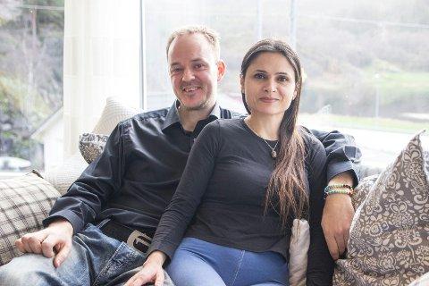 – Vi har vært dyktige og heldige i et krevende marked, sier Jone Slettebø (36) og Anca Caia (40), som står bak selskapet som topper bedriftsskattelisten for Eigersund