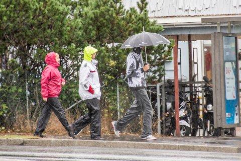 FRAM MED REGNTØYET: Det er ventet regn i dagene framover.