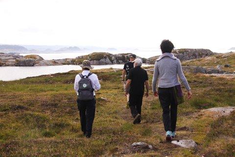 Ved tidligere evalueringer har Magma tatt med UNESCOs representanter til Eigerøy fyr. Denne gangen valgte de å legge turen til Hagavatnet på Ytstebrød, hvor geologien er helt spesiell.