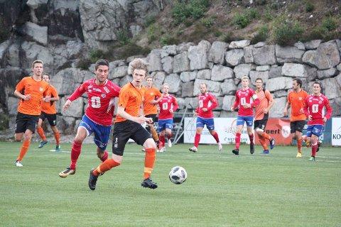 SNART RULLER BALLEN IGJEN: NFF Rogaland forbereder seg som om høstsesongen går som normalt for Eiger og de øvrige klubbene fra 4. divisjon og nedover i systemet. Dette bildet er fra en kamp mot Vaulen. .